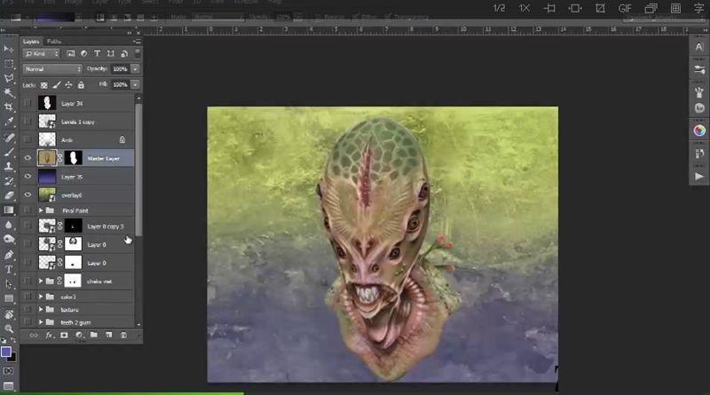 PS概念生物设计训练视频学习教程