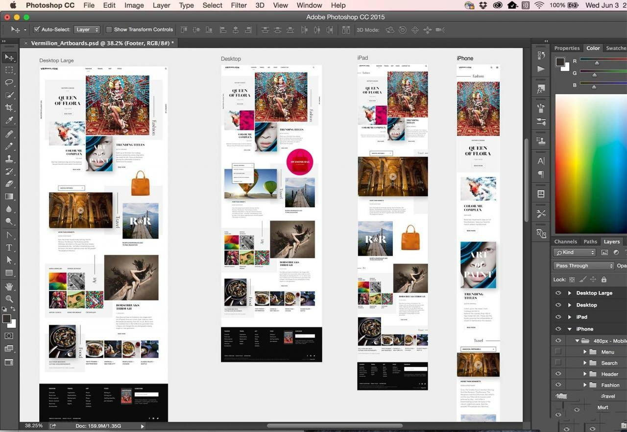 Photoshop CC 基础技能视频学习教程(附工程源文件)