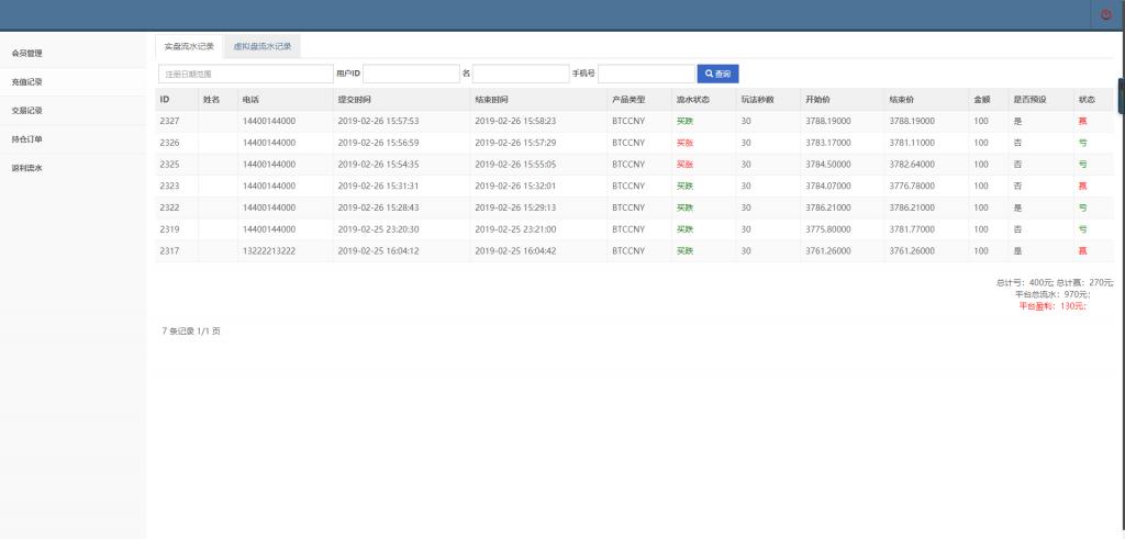 最新更新第一版二开微交易时间盘+新版时间盘+金属时间盘 +财经资讯+带微信登录投资理财网站源码下载